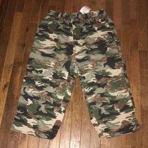 Roaman's Size 16 Camouflage Capri Pants Plus Size